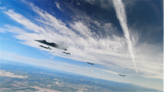 不只有整齐好看 歼-20编队飞行在实战中也有特殊意义