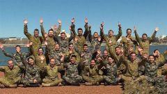 中澳陸軍聯訓荒島求生課目結束