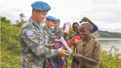 展藍盔風采 為軍旗增輝——中國第22批赴剛果(金)維和部隊執行任務回眸