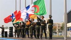 第七届世界军人运动会:首批外国代表队入住运动员村