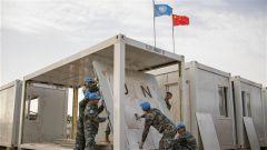 聯馬團中國二級醫院完成營區擴建修繕工作