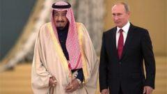 俄总统普京时隔12年再次访问沙特