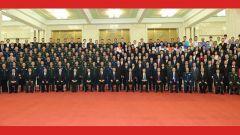 中華人民共和國成立70周年慶祝活動總結會議在京舉行 習近平親切會見慶祝活動籌辦工作有關方面代表