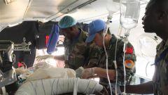 馬里:中國維和醫療分隊緊急轉運槍傷傷員