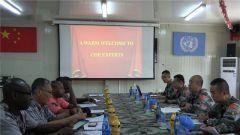 中國第23批赴剛果(金)維和醫療分隊順利通過聯合國首次裝備核查