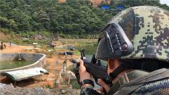 武警廣西總隊:紅藍對抗演練 錘煉反恐特戰精兵