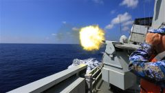 波峰礪劍驚海天——海軍某護衛艦支隊艦艇編隊訓練掠影