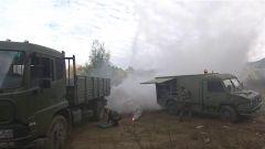 火箭军某部开展实战综合保障演练