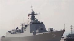 海军太原舰圆满完成访日任务返回舟山某军港