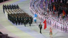 中国军队史上规模最大体育代表团亮相武汉军运会 力拼金牌榜第一