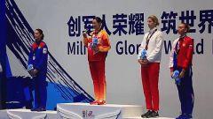 好样的中国军人!孙一文登上军运会女子重剑个人赛最高领奖台!