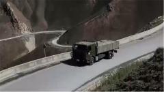 高原路險突發意外 駕駛員迅速排除車輛故障保障運輸