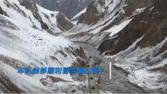 高原運輸車隊克服氣候惡劣堅持前進