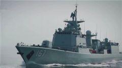 南部战区海军某驱逐舰支队:深圳舰开展连续高强度海上练兵
