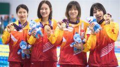 【直通軍運會】 水上救生項目中國隊又添3金 吳惠敏勇奪4枚金牌