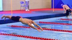 【直通军运会】空军五项射击游泳开赛 程新获得游泳总评第二名