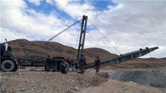 西藏军区某工化旅开展架设桥梁实战化演练