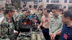 武警广西机动支队:军营开放日 助力驻地国防教育普及