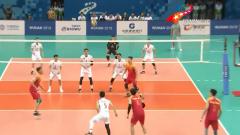 【直通军运会】男排决赛:中国3:1获胜登上冠军领奖台