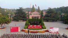 陆军步兵学院追寻红色足迹 接受革命精神洗礼