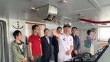 """""""我的家乡我的舰""""主题宣传活动,走进""""神州第一舰""""——深圳舰。"""