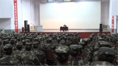 武警辽宁总队:这堂新兵政治教育课有些不一样