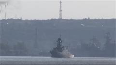 俄军在地中海举行海空联合演习