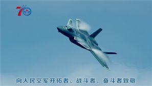 人民空军成立70周年:鹰击长空 为国仗剑