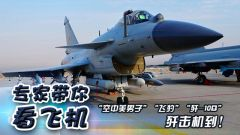 """《論兵》專家帶你看飛機·""""空中美男子""""""""飛豹""""""""殲-10B"""" 殲擊機到!"""
