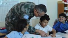 黎巴嫩:中國維和部隊應邀在當地學校開設漢語班