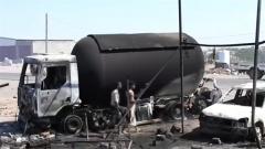 胡塞武装袭击也门港口城市穆哈