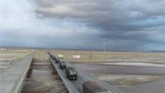 陆军西藏军区某汽车运输旅官兵执行实战背景下物资运输任务