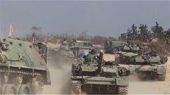 """陆军第72集团军""""红蓝对抗""""训练:要点夺控 检验合成营独立作战能力"""
