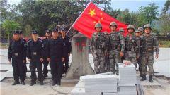 军警民联合巡逻 共筑边境钢铁防线