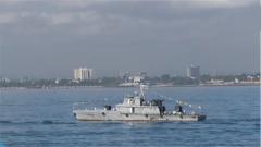 海軍第33批護航編隊濰坊艦技術停靠坦桑尼亞