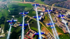 不僅好看更實用 九機燕隊:我國出機量最大的特技飛行動作