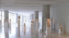 習近平和希臘總統共同參觀雅典衛城博物館