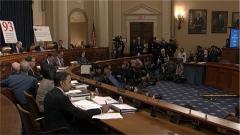 【特朗普彈劾調查進入公開聽證階段 】證人:對特朗普政府施壓烏克蘭表示擔憂
