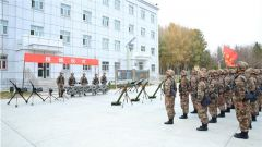 荣耀接装 勇担重任!新疆军区某边防团举行授炮仪式