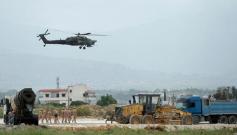 俄首批戰斗直升機正式進駐敘北部機場