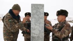中蒙两军边防部队联合执勤