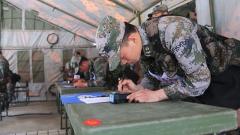 皖北山區擺兵布陣 體驗支援保障能力