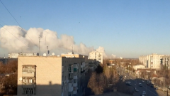乌克兰军火库爆炸 两死五伤