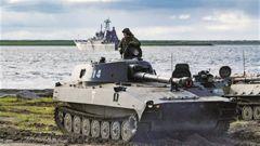 俄海軍陸戰隊迎擴編轉型