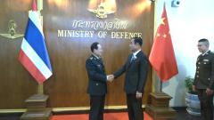 泰国总理巴育会见魏凤和