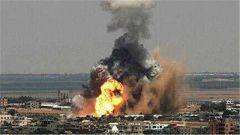 以色列空襲哈馬斯軍事目標 巴以新一輪交火以來首次