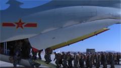 陆军:中国第六批赴南苏丹朱巴维和步兵营启程
