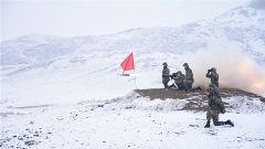 威龍震雪域!新疆塔城某邊防團開展重火器實彈射擊考核