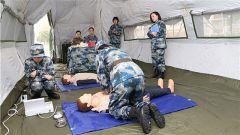 空軍杭州特勤療養中心舉辦比武競賽 鍛造衛勤保障尖兵