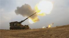 【第一軍視】火力真猛!炮兵群精準打擊海上目標